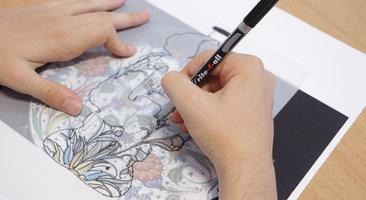 Art Workshops at Lea Manor High School