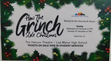 'How the Grinch Stole Christmas' school production.