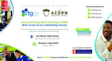 Train to Teach Event